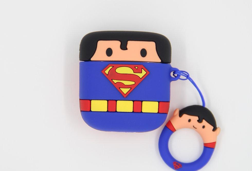 Чехол на AirPods (Superman)