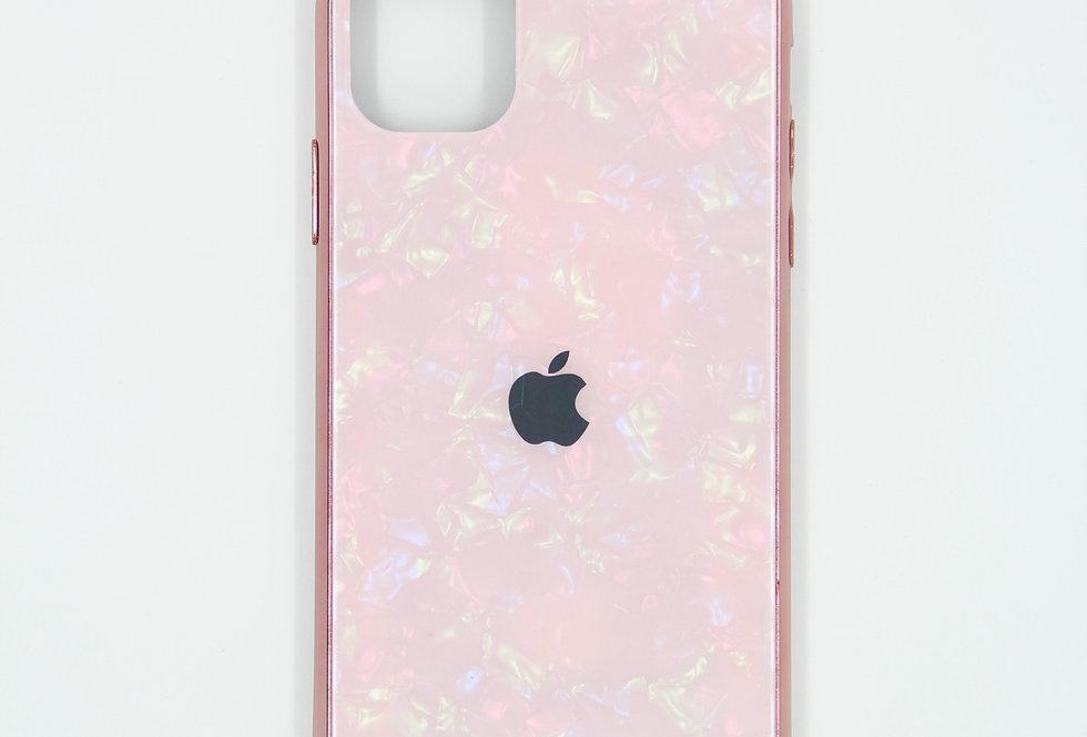 Стеклянный чехол на iPhone 11 Pro Max (Broken Glass)