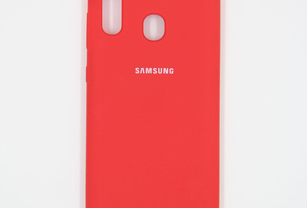 Силиконовый чехол на Samsung Galaxy A30