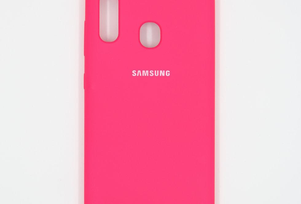 Силиконовый чехол на Samsung Galaxy A20-30