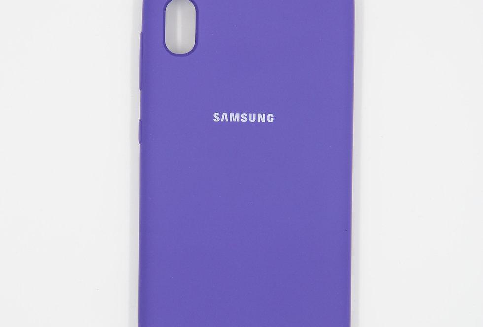 Силиконовый чехол на Samsung Galaxy A10