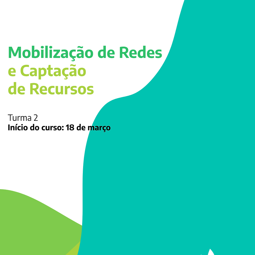 Curso Mobilização de redes e captação de recursos
