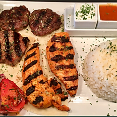 MB Chicken and Beef Platter