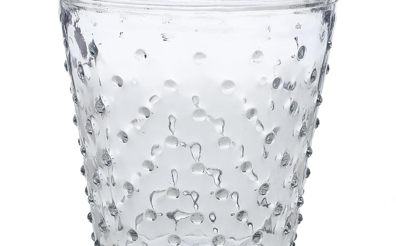 Clear Hobnail Vase