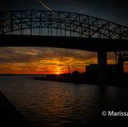 HAmilton sunset photograph