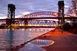 Bridge in sunset - MK Video Photo
