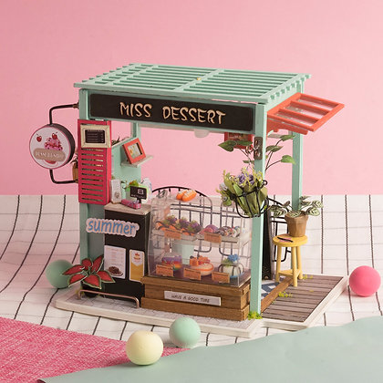Casas en Miniatura - Pasteleria