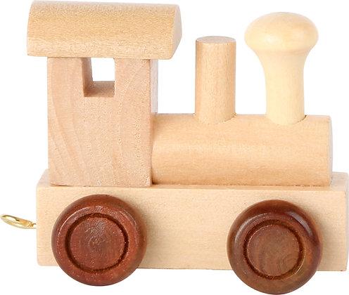 Locomotora Natural - Tren de letras