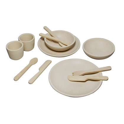 Set de Platos, Vasos y Cubiertos PLANTOYS