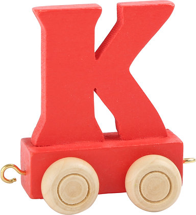 K (Rojo) - Tren de letras