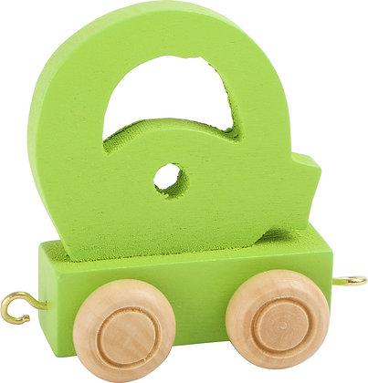 Q (Verde) - Tren de letras