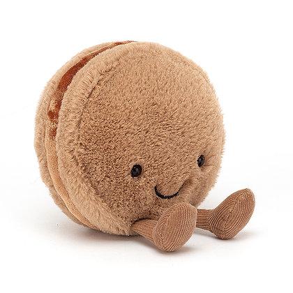 Jellycat Macaron Chocolate