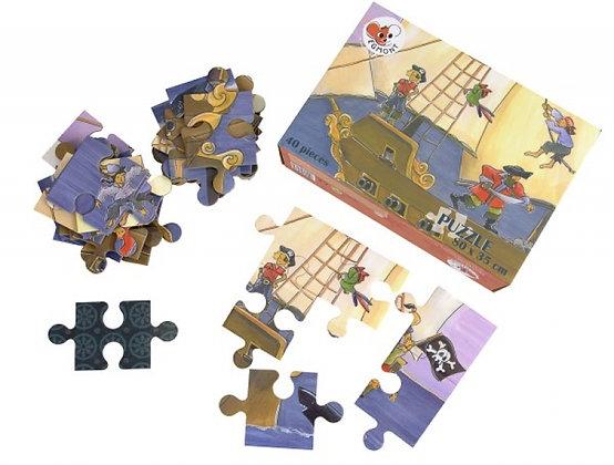Puzzle Piratas - 40 Piezas