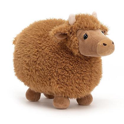 Jellycat Rolbie Vaca Pequeño
