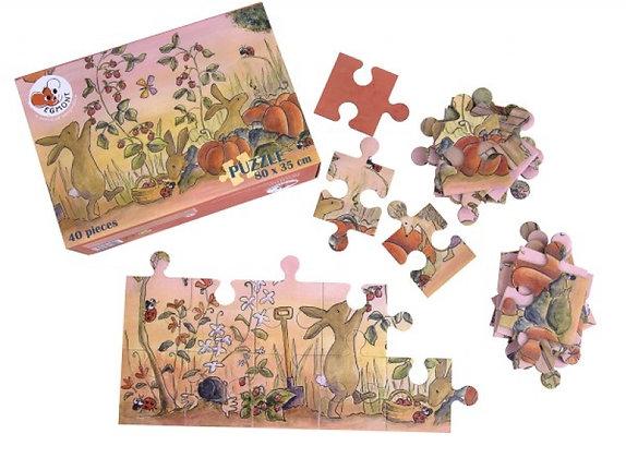 Puzzle Jardin - 40 Piezas