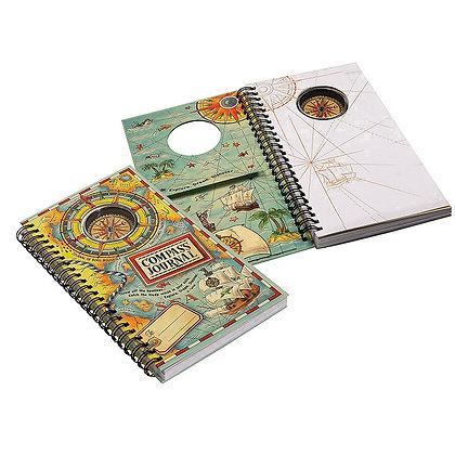 Cuaderno con brújula de Authentic Models
