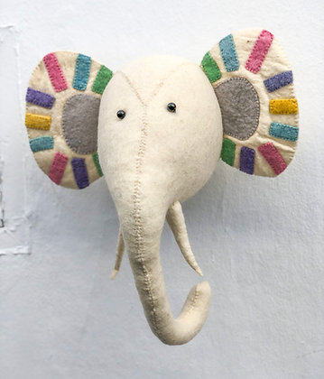 Pastel Safari Cabeza Elefante