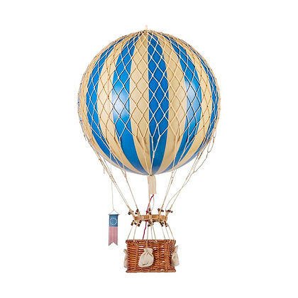 Authentic Models Globo Aerostático Grande 32cm - Azul