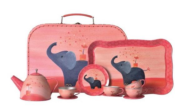 Maletín con Set de Té Elefante