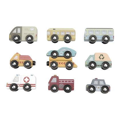 Set de 9 Vehículos de Little Dutch