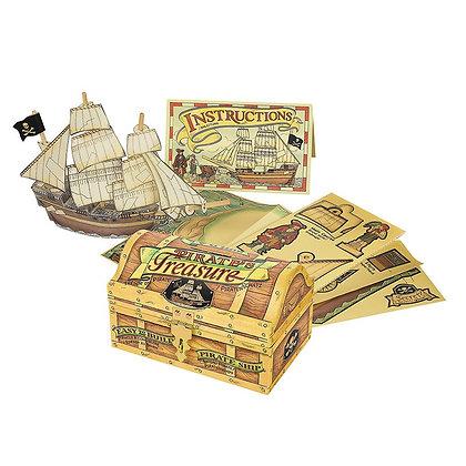 Construye tu propio mini barco pirata de Authentic Models