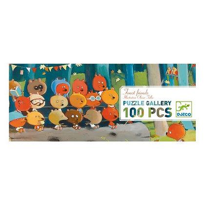 Djeco Puzzle Amigos del Bosque - 100 Pieces