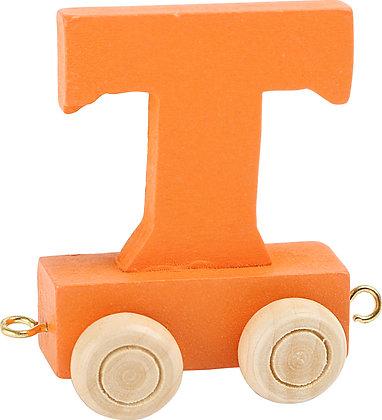 T (Naranja) - Tren de letras