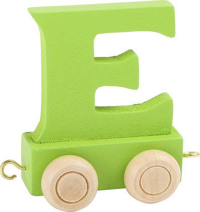 E (Verde) - Tren de letras
