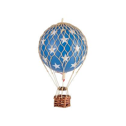 ¡Nuevo! Authentic Models Globo aerostático pequeño 8.5cm - Estrellas Azul