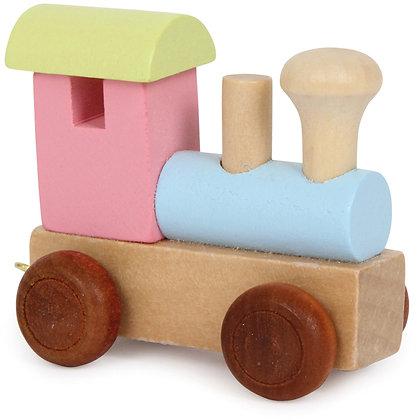 Locomotora Colorido - Tren de letras