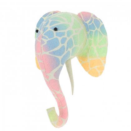 Ombre Pastel Cabeza de Elefante