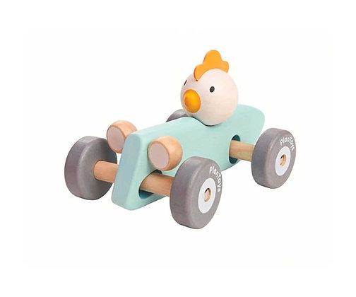 Gallina Coche de Carreras de Plan Toys