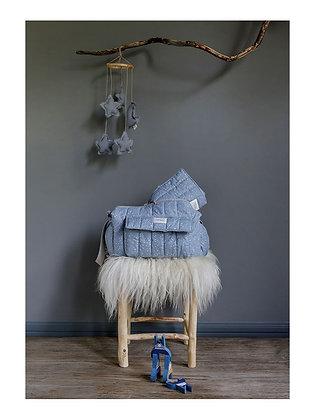 Bolsa de cochecito con cambiador de Baby Shower - Blue Star