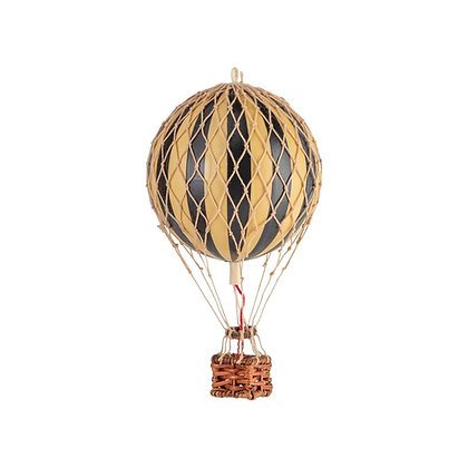Authentic Models Hot Air Balloon 8.5cm - Black