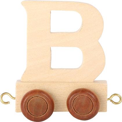 B (Natural) - Tren de letras