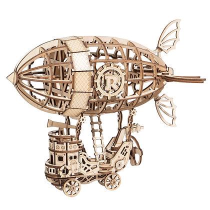 Puzzle de madera 3D - Dirigible