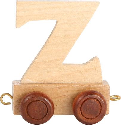 Z (Natural) - Tren de letras