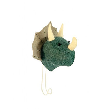Percha de dinosaurio Triceratops