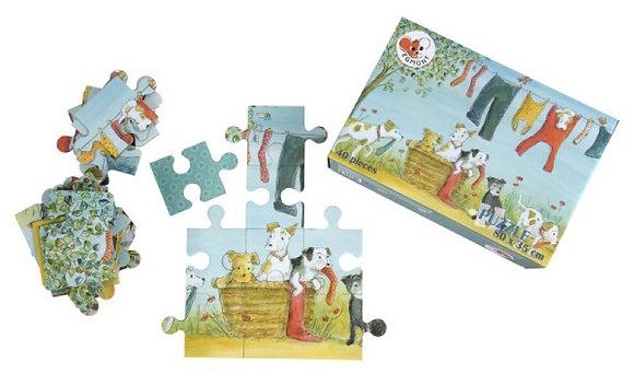 Puzzle Perro - 40 Piezas