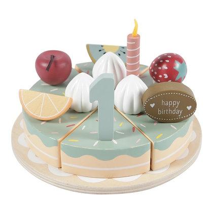Pastel de Cumpleaños  de Little Dutch (26 piezas)