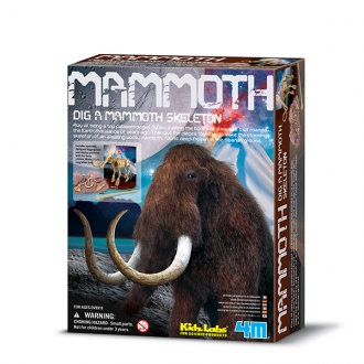 Kidzlabs paleontología esqueleto mamut