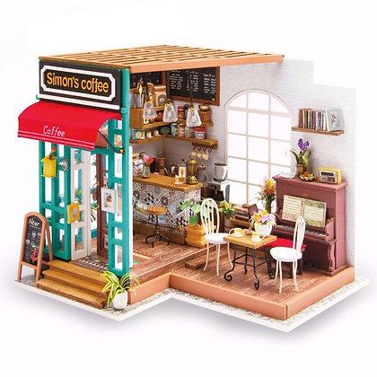 Casas en Miniatura - Cafe de Simon