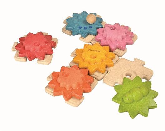 Puzzle Engranajes PLANTOYS