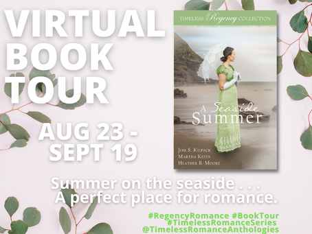 A Seaside Summer (Anthology) Review and virtual book tour - GIVEAWAY