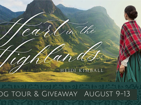Heart in the Highlands - Blog Tour, Review, and Giveaway!