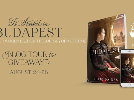It Started in Budapest - Blog Tour and Giveaway