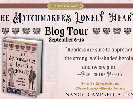 The Matchmaker's Lonely Heart Blog Tour Review