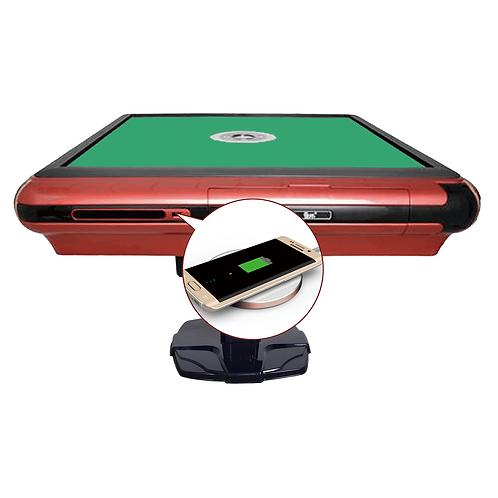 USB充电富贵红 | Cinnabar Red Frame USB Charging Table