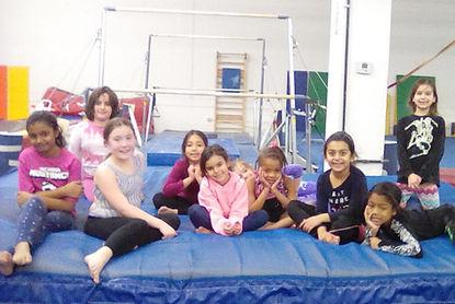 girls from Gym America