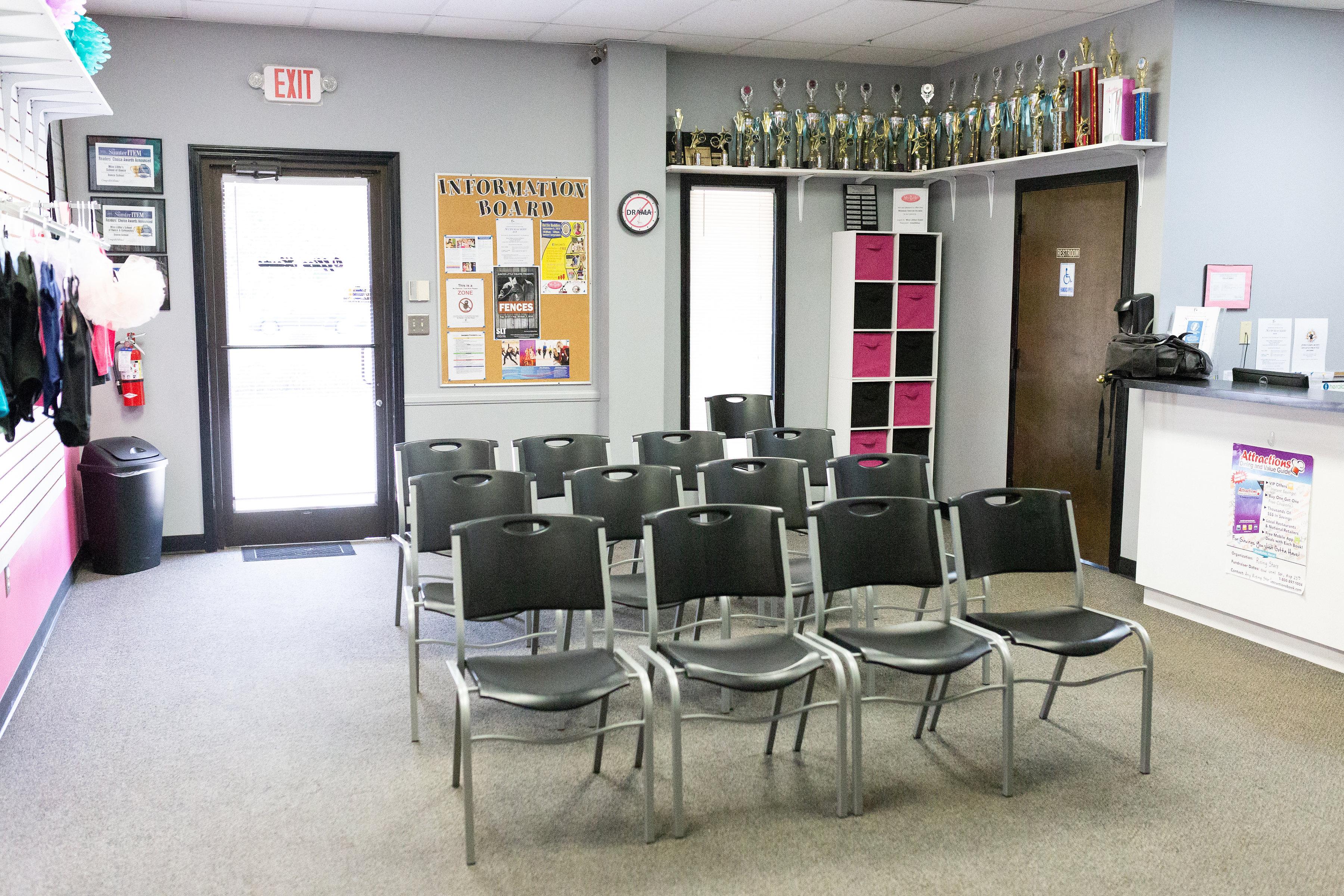 wesmark studio waiting area